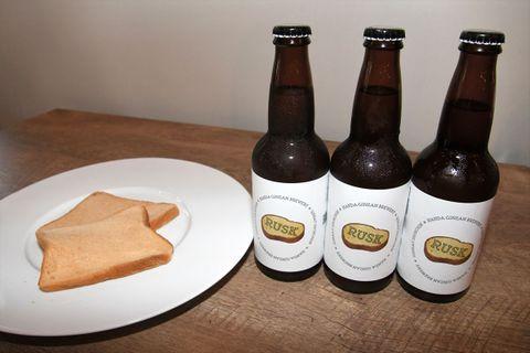 原料に食パン、クラフトビール15日発売 食品ロス回避へ 福島県桑折町の半田銀山ブルワリー