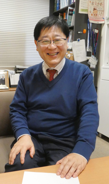 新薬の開発を主導した国立成育医療研究センターの奥山虎之医師