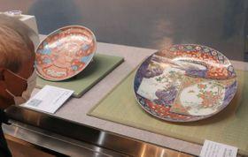 米原市内で12代医師を務めた旧家に伝わる絵画や陶磁器を紹介する企画展(米原市顔戸・近江はにわ館)