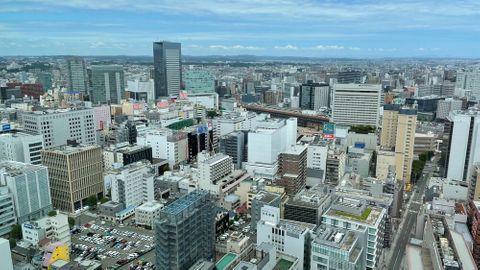 仙台の市街地