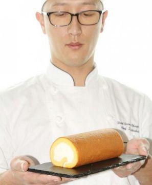 県産食材のロールケーキ商品化 岡山のホテル きめ細かい食感特長