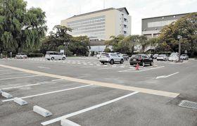 民間事業者に有償で貸し付ける若林区役所の駐車場