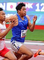急成長で五輪切符を手にした陸上男子400メートルリレーのデーデー・ブルーノ