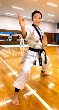「次は優勝して支えてくれた仲間や家族に感謝を伝えたい」と鍛錬する松矢さん
