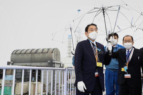 岸田首相、福島第1原発を視察