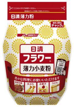 日清フーズの「日清 フラワー チャック付」(1キロ)