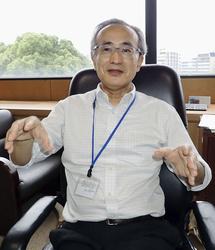 医学的根拠に基づく健康情報の重要性を訴える国立健康・栄養研究所の津金昌一郎所長