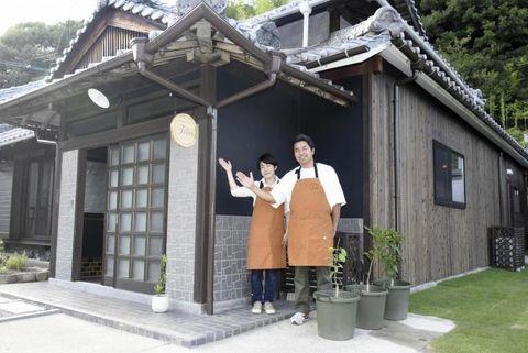島の魅力「紡ぐ」フレンチ店オープン 本格コース料理提供 今治・大三島にIターンした夫婦