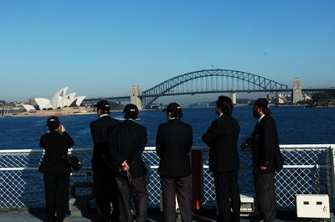 3月17日(128日目:あと2日)シドニー入港