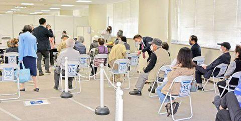 コロナワクチン予約窓口に希望者殺到、待ち時間2時間超も 福井市、電話も「全くつながらない」