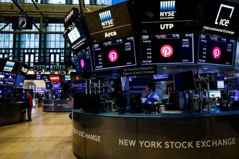 ニューヨーク証券取引所=20日(ロイター=共同)