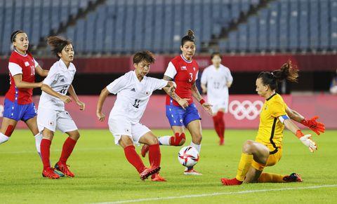女子日本、準々決勝進出