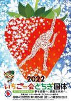 とちぎ国体冬季大会の公式ポスター