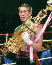 2014年1月に東洋太平洋ライト級王座を獲得した中谷正義