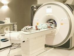 fMRIで脳活動を調べる様子(ATR提供)