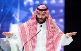 サウジアラビアのムハンマド皇太子=2018年10月、リヤド(ロイター=共同)