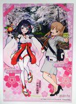 「青森りんこ」と「芦野かな」がデザインされたクリアファイル