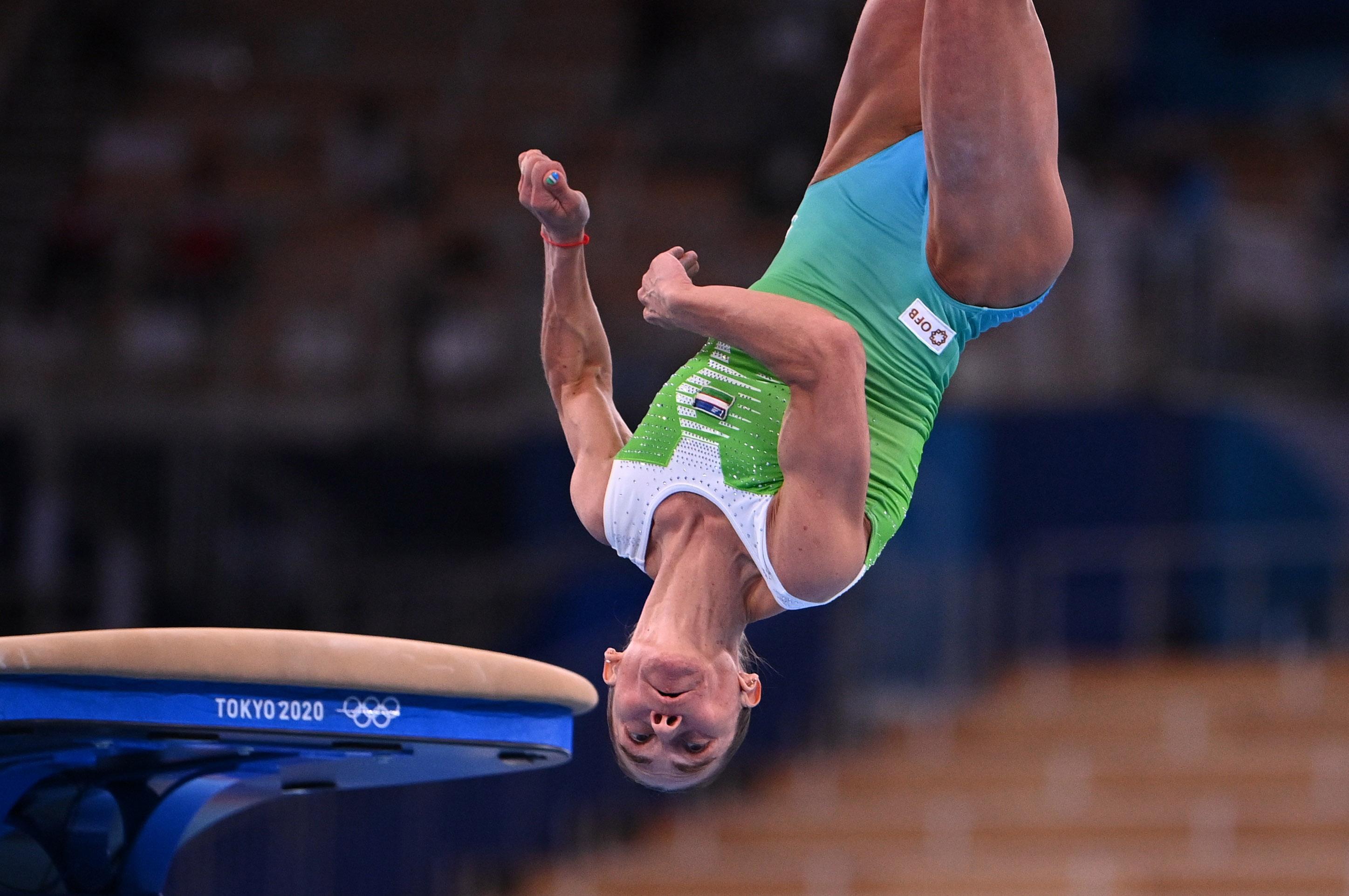 46歳の体操女子選手が五輪去る 92年金のチュソビチナ